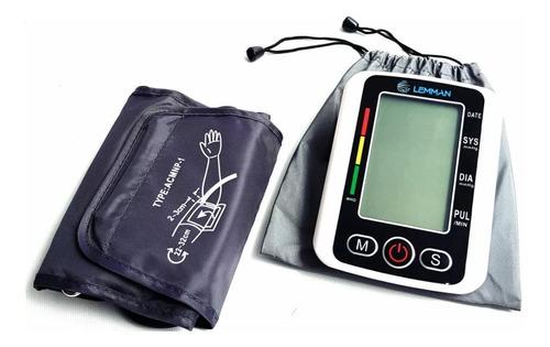 tensiometro digital medidor presión de brazo + estuche usb