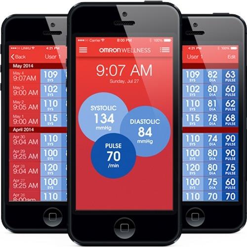 tensiometro omron serie 10 para android y app para hoyyyyyy