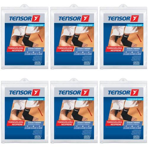 tensor 8422 tornozeleira neoprene m (kit c/06)