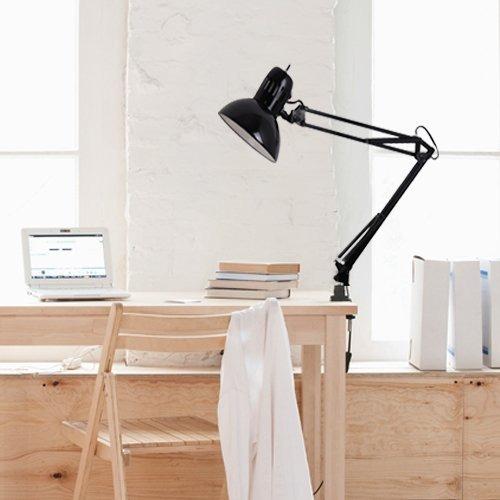 tensor  pulgadas negro escritorio del oscilación del brazo