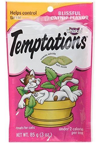 tentaciones golosinas clasicas para gatos con sabor a catnip