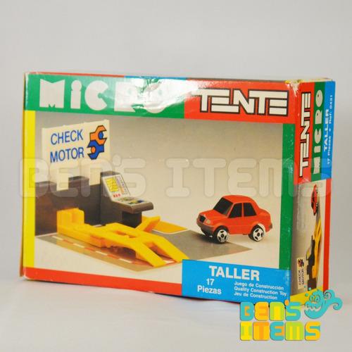 tente micro taller exin vintage 1990 nuevo!!!