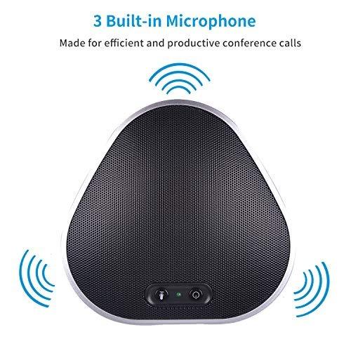 tenveo usb conference speakerphone para llamadas de conferen