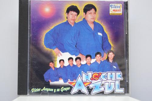 teo, cd noche azul victor anyaco y su grupo - cumbia peruana