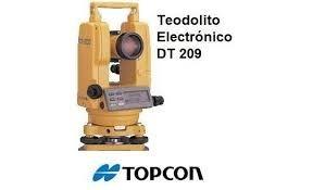 teodolito topcon dt 209 9seg 26x incluye tr pode mira 5m s rh articulo mercadolibre com pe Partes De Un Teodolito Teodolito Partes Del