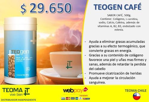 teogencafé - teoma x región - café para la baja de peso