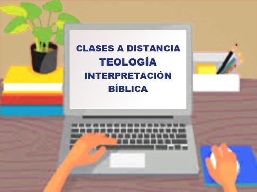 teología - interpretación bíblica - clases online