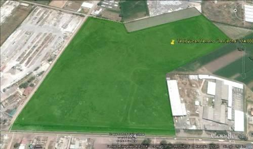 teoloyucan *terreno 114000 m2 para estacionamiento de autos