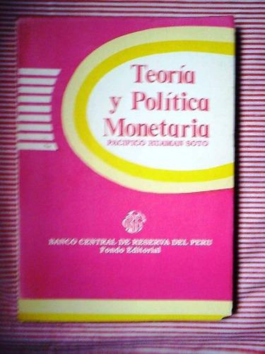 teorìa polìtica y monetario