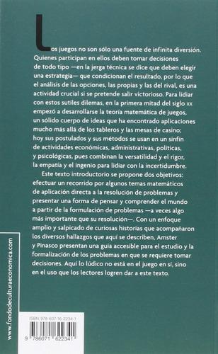 teoría de juegos - pablo amster y juan pablo pinasco