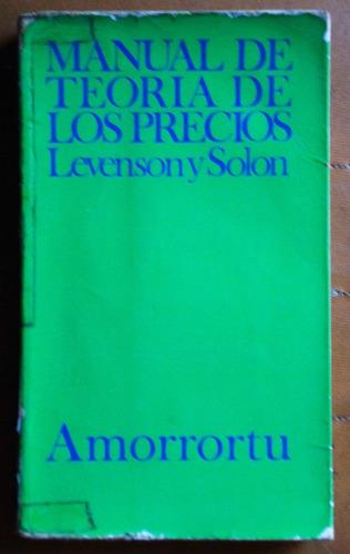 teoría de los precios / levenson - solon
