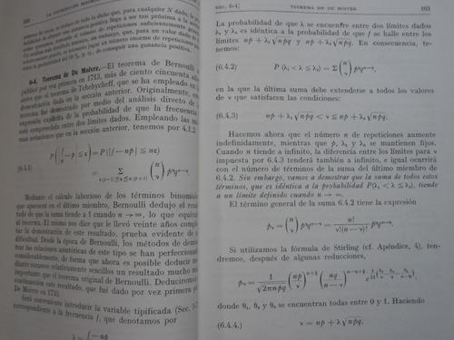 teoria de probabilidades y aplicaciones  - harald cramer