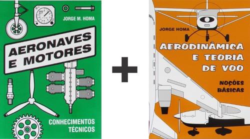 teoria de voo avião + conhecimentos técnicos jorge m. homa