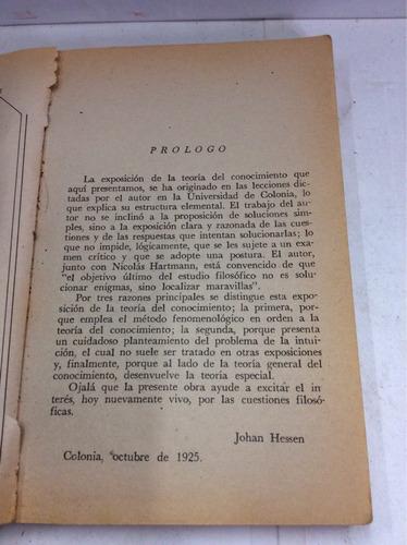 teoría del conocimiento, j. hessen