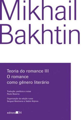 teoria do romance iii