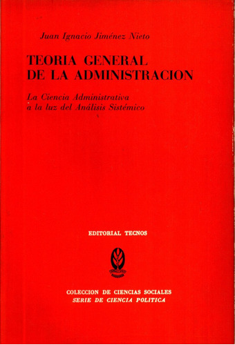 teoria general de la administracion - jimenez