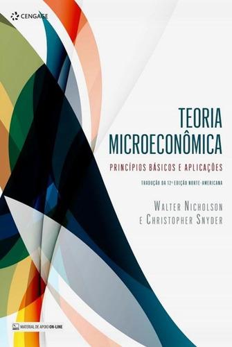 teoria microeconomica - principios basicos e aplicacoes -