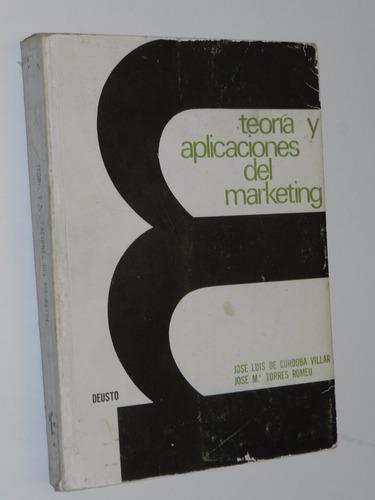 teoria y aplicaciones del marketing - cordoba villar