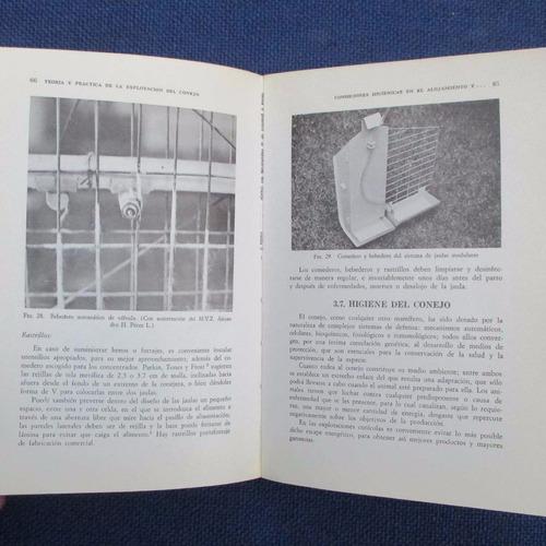 teoria y practica de la explotacion del conejo, m. v. z. jua