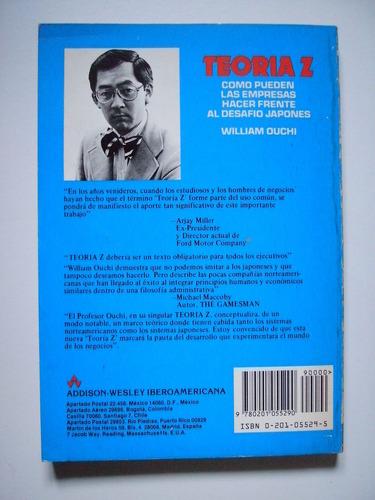 teoría z - william ouchi - 1986