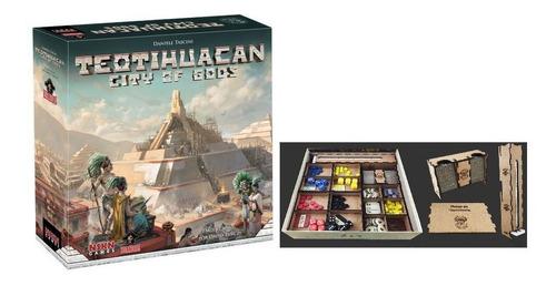 teotihuacan city of gods + insert de jogo bucaneiros