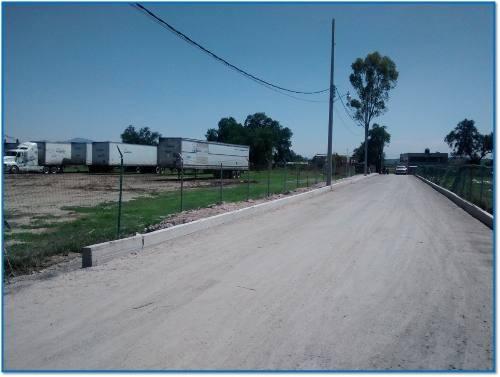 tepotzotlán: terreno plano industrial con opción a compra