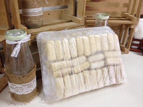 tequeños artesanal premium (40gr)   queso bufala/ al mayor