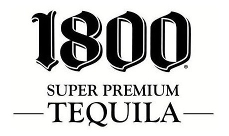 tequila 1800 silver 100% agave importada de mexico