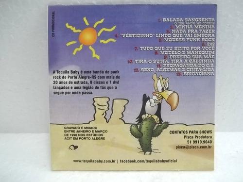 tequila baby primeiro disco cd original novo não lacrado