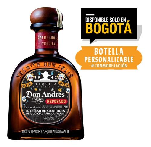 tequila don julio reposado 750ml etiquet - l a $193