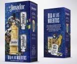 tequila el jimador 750ml com copos agave mexico jose cuervo