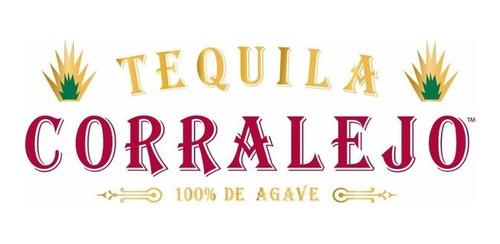 tequila gran corralejo añejo 100% agave de litro con estuche