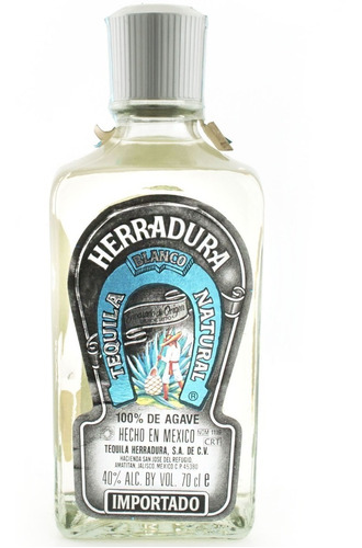 tequila herradura silver 100% agave de mexico envio gratis