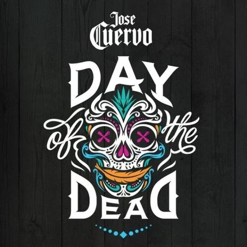 tequila jose cuervo day dead con 2 shots!