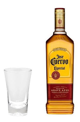 tequila jose cuervo - especial reposado - 375ml + brinde