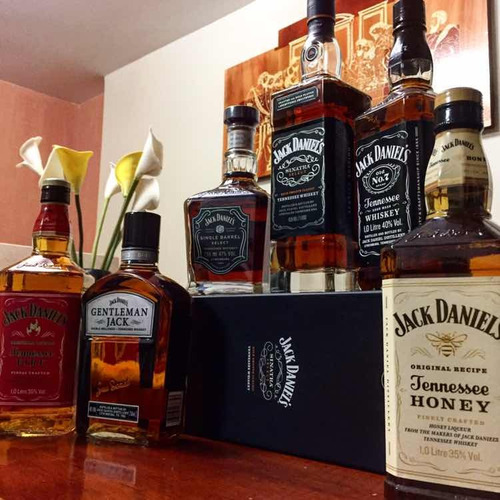 tequila jose cuervo gold,silver.jack daniels, jagermeister