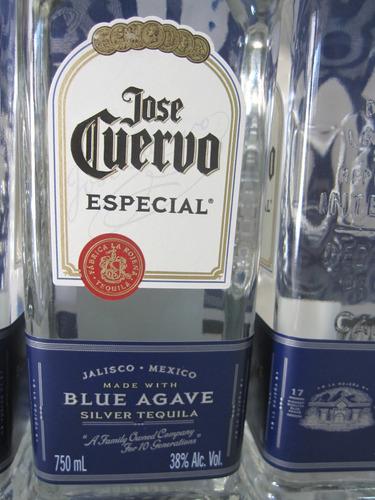 tequila jose cuervo prata 750ml original leia o anuncio