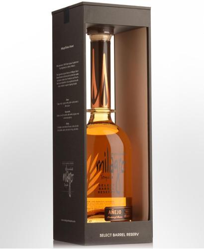 tequila leyenda del milagro reposado 750ml select barrel