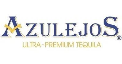 tequila los azulejos añejo 100% agave botella de ceramica