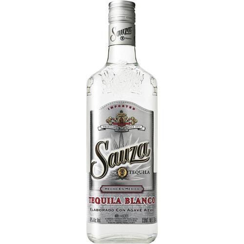 tequila mexicana blanco garrafa 750ml - sauza