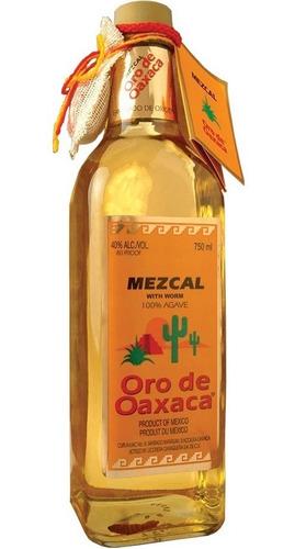 tequila mezcal joven oro de oaxaca 100% agave rnpa n°0530005