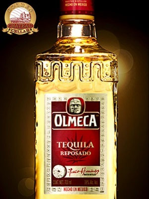 tequila olmeca reposado 750 ml / 40° alcohol