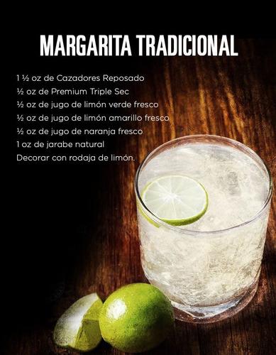 tequila reposado cazadores 100% agave de 950 ml