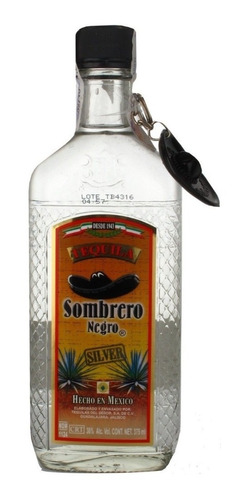 tequila sombrero negro de mexico silver envio gratis caba