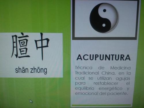 terapia de acupuntura, emocional, floral y neural.