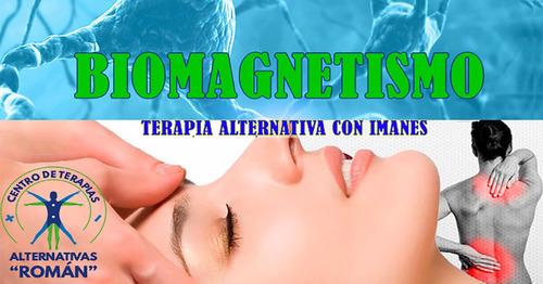 terapia de biomagnetismo, neuropsicología, venta de imanes