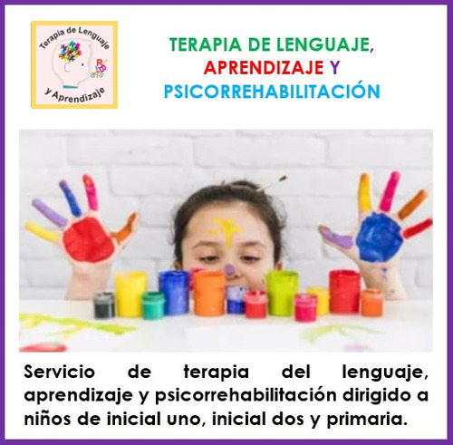 terapia de lenguaje, aprendizaje y psicorrehabilitación