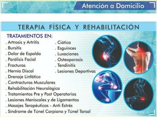 terapia física y rehabilitación a domicilio / chimbote