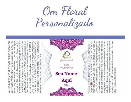 terapia floral de bach tratamento personalizado - 03 vidros