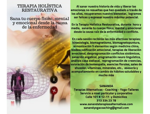 terapia holistica restaurativa